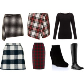 On Trend: Tartan Skirts